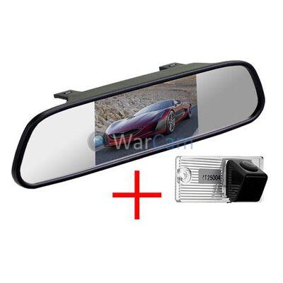 Зеркало с монитором и камерой заднего вида для Kia Cerato (седан, до 2011)