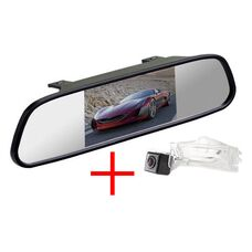 Зеркало + камера для Dodge Caliber (2006-2011) Grand Caravan 5 (2007+)